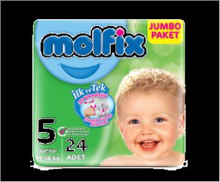 Molfix 3d Junior Jumbo 24 Adet ürün resmi