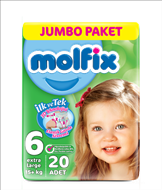 Picture of Molfix 3d E.Large Jumbo 20 Adet