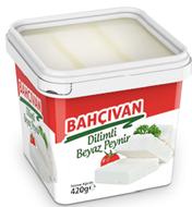 Resim Bahçıvan Beyaz Peynir Dilimli 420 Gr