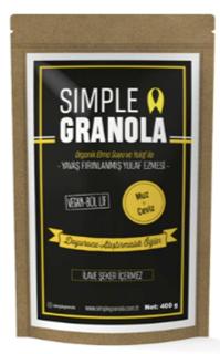 Simple Granola Muzlu Cevizli 450 Gr ürün resmi